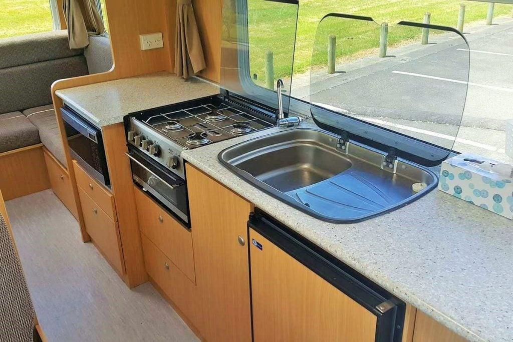 Budget Motorhome and Kiwi motorhomes