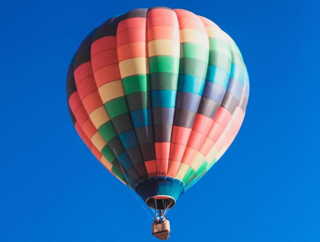 hot air balloon ride saskatoon