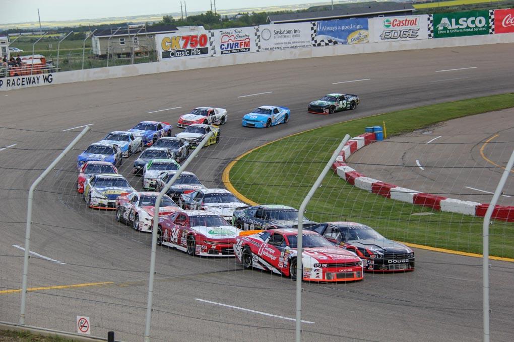 NASCAR race in Saskatoon, Canada