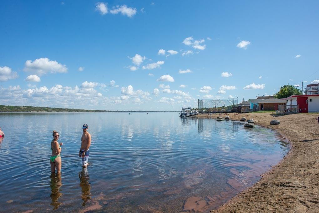 Manitou Lake near Saskatoon