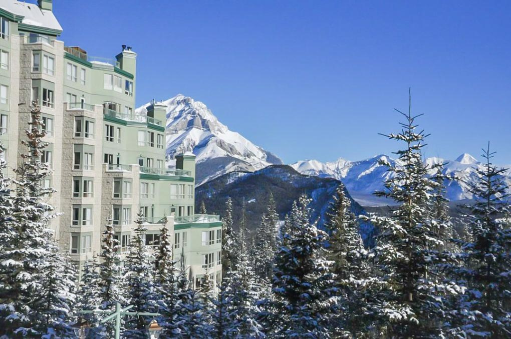 Rimrock Resort Hotel in banff, Canada