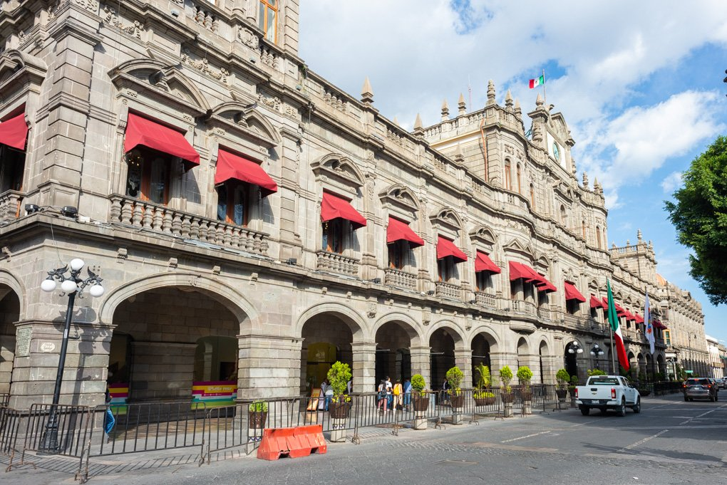 Take in the stunning architecture on a city bus tour of Puebla