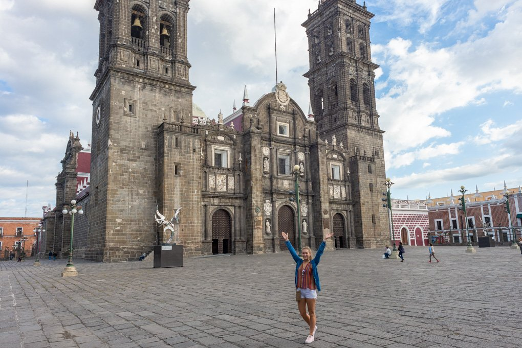 Exploring Puebla on  free walking tour