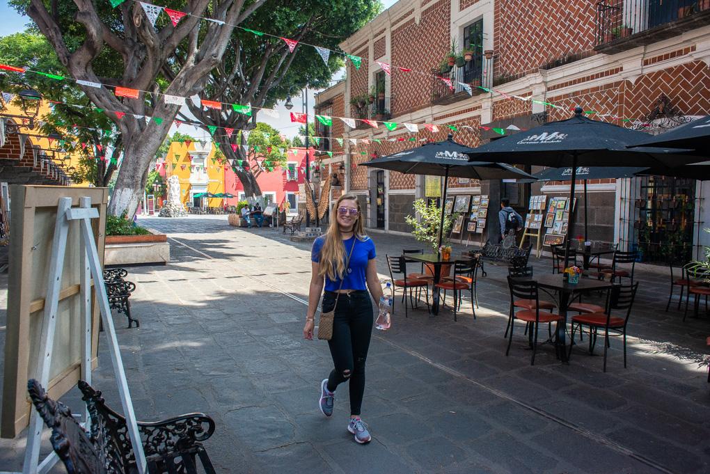 Barrio las Artistas in Puebla, Mexico