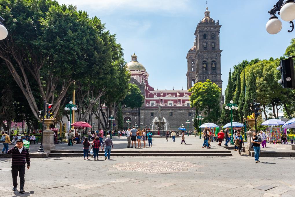Zocalo Square, Puebla, Mexico