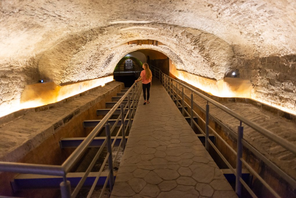 Punta De Bubas tunnels in Puebla