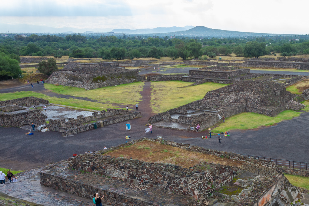 Cantona Ruins near Puebla Mexico