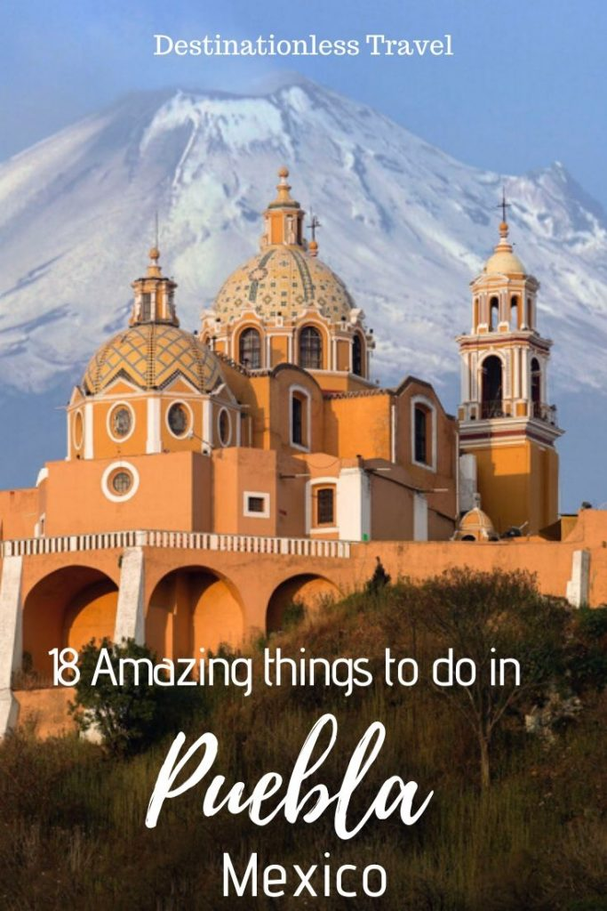 Things to do in Puebla pin
