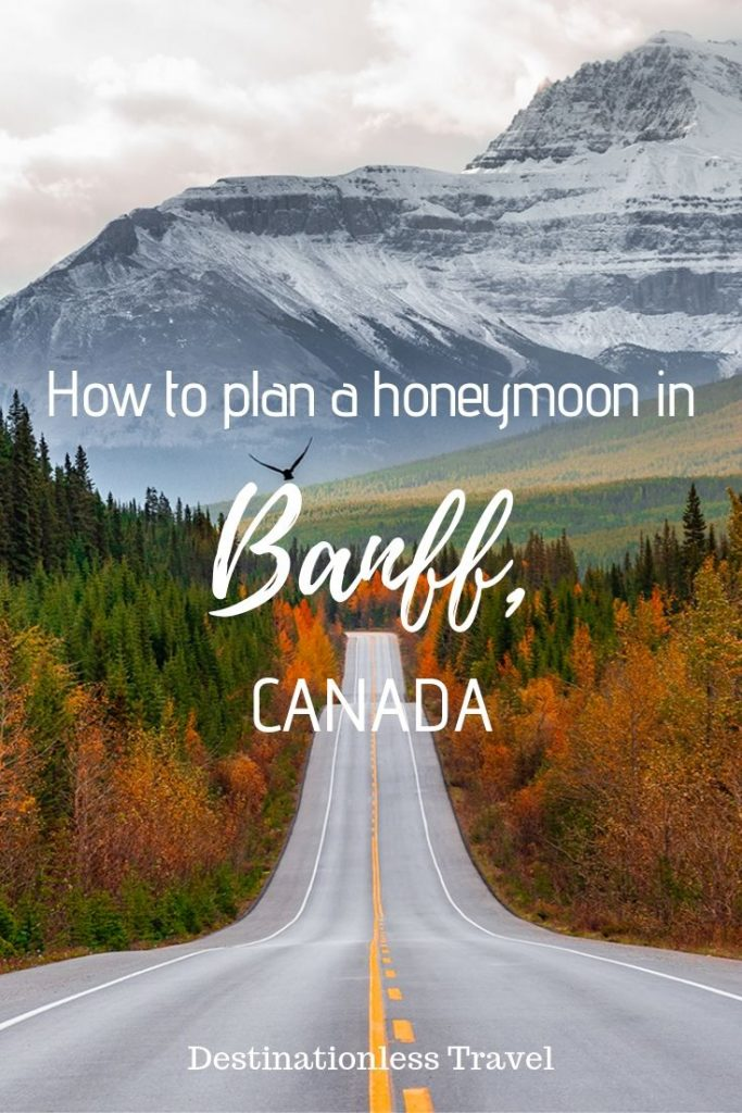 Honeymoon in Banff Canada Pin