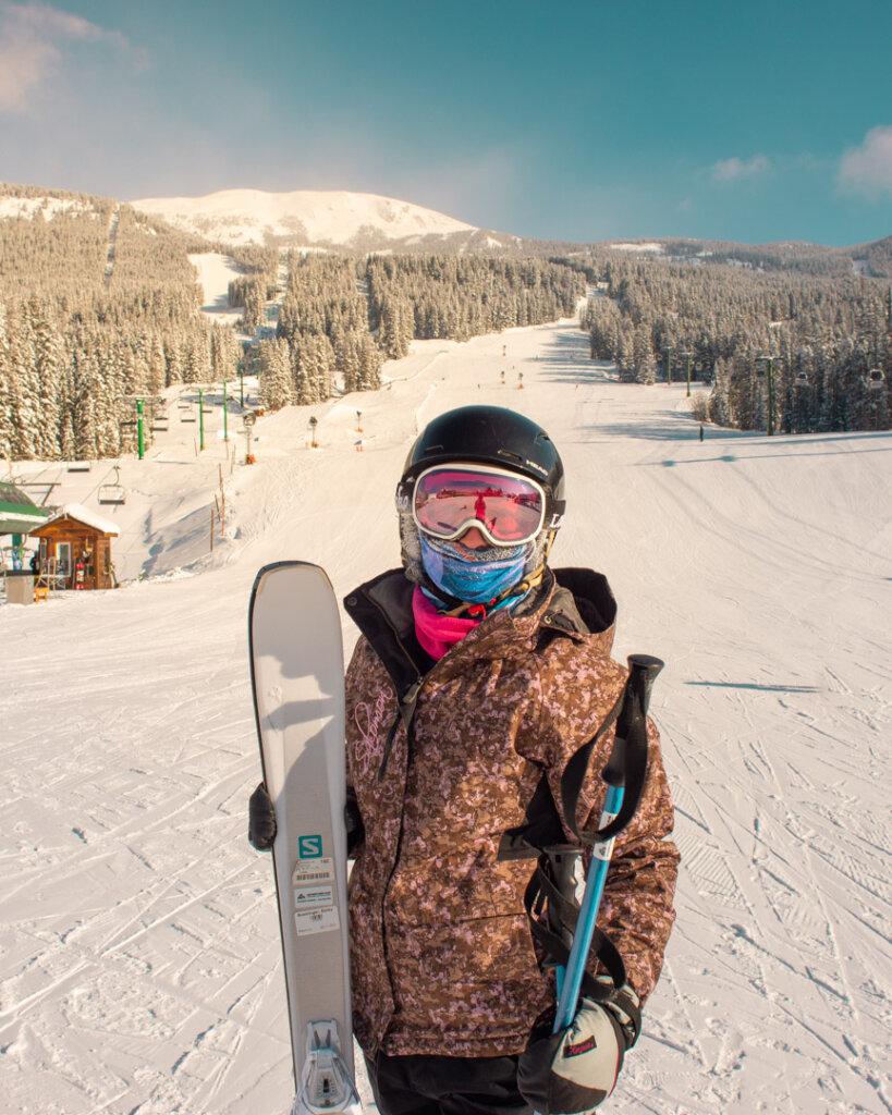 Bailey at Lake Louise Ski Resort