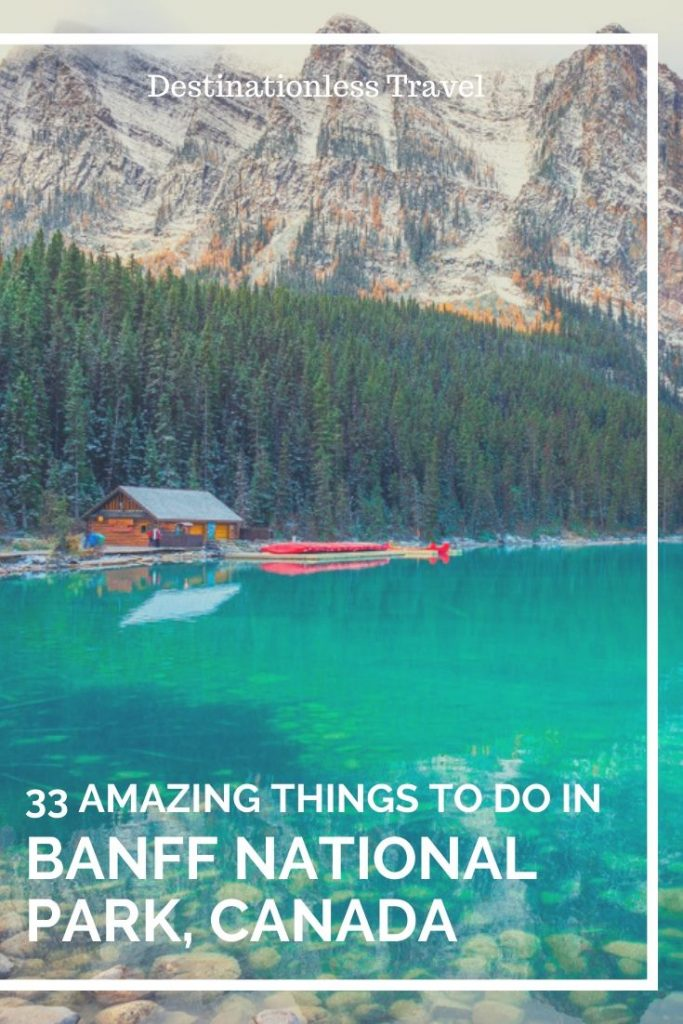 Things to do in Banff National Park Pin