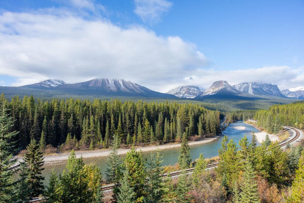 Morants Curve, Banff National Park