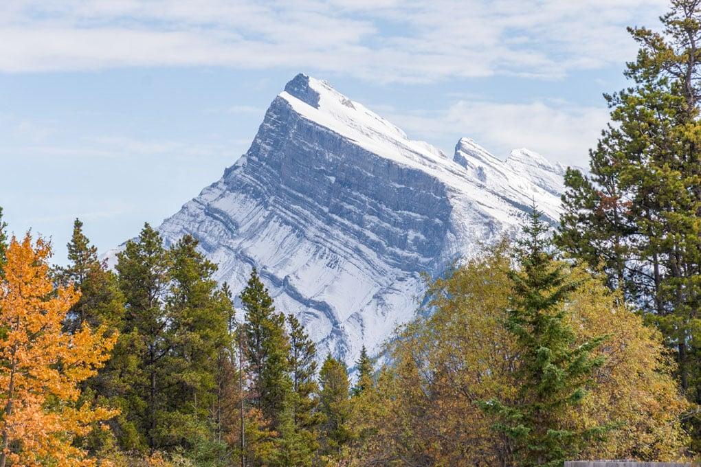 Mt Rundle in Banff, Canada