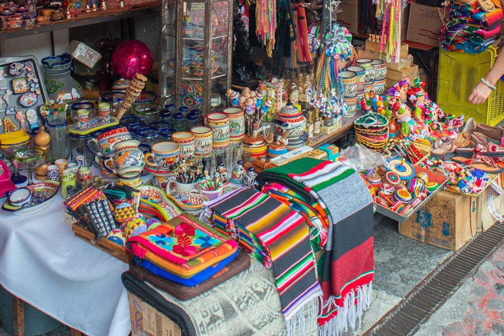 La Ciudadela artisinal market, Mexico City