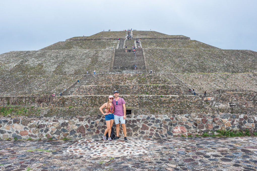 Teotihuacan ruins near Mexico City