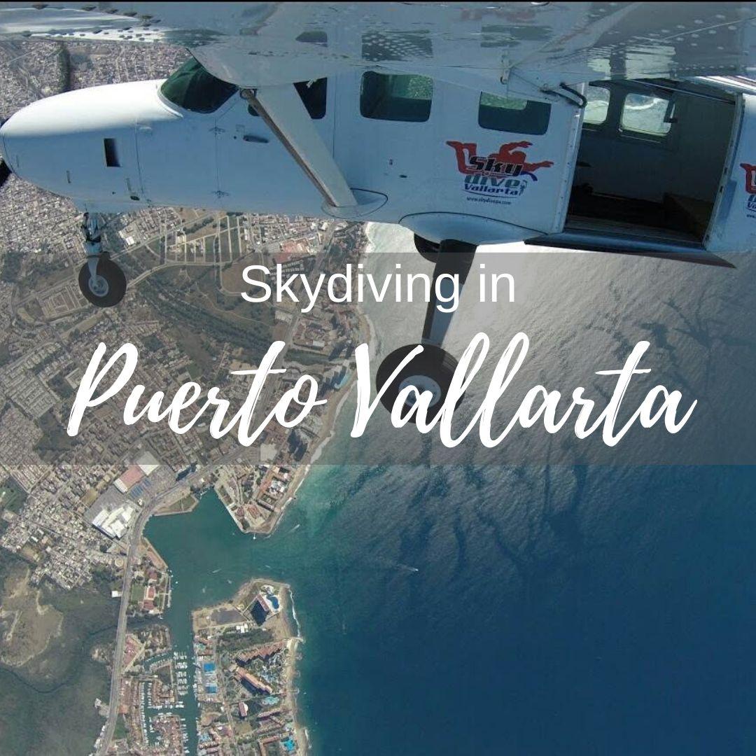 Skydiving in Puerto Vallarta