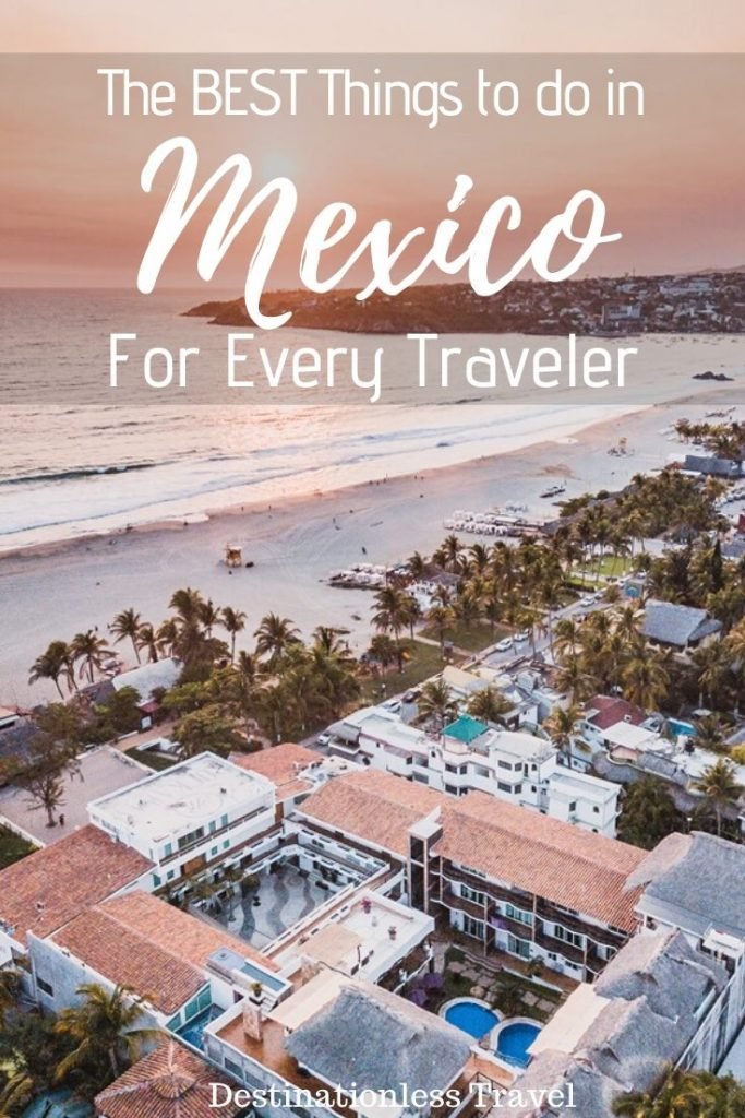 Things to do in Mexico pin
