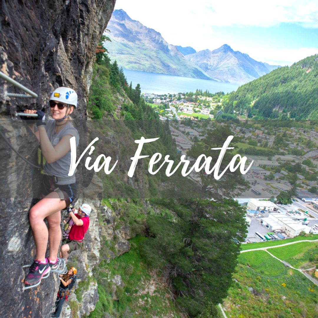 Via ferrata Queenstown