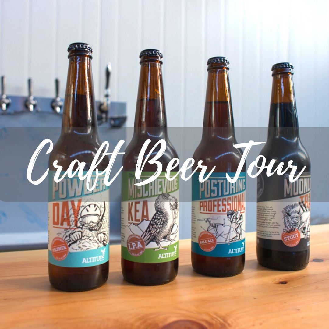 Craft Beer tour Queenstown