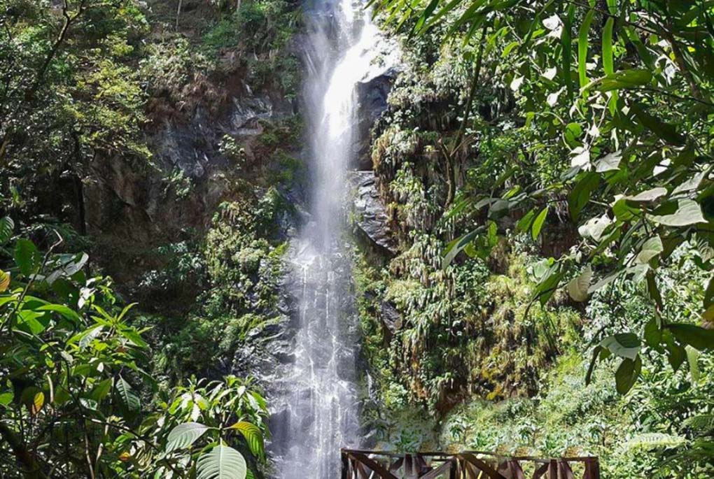 Santa Rita Waterfall Colombia