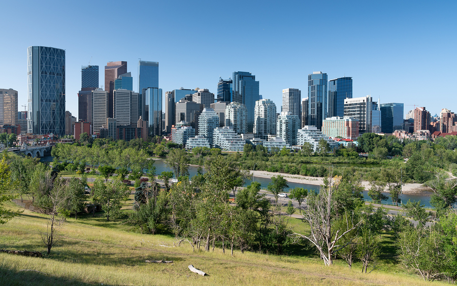 staying in calgary is another option for visiting banff