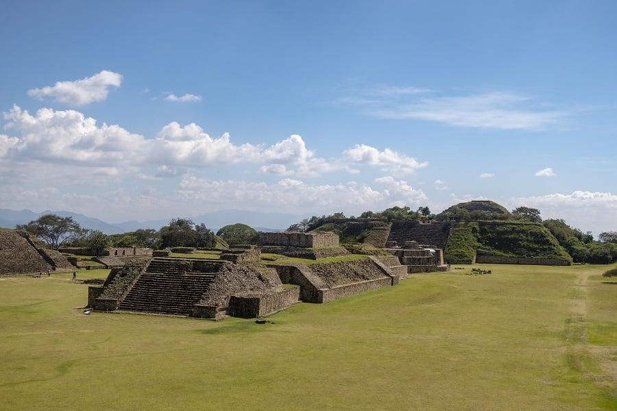 Mount Alban Near Oaxaca Mexico