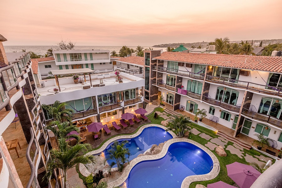 hotel rockaway is one of the best value hotels in puerto escondido