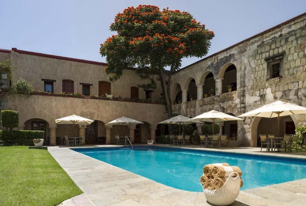 quinta real hotel in oaxaca