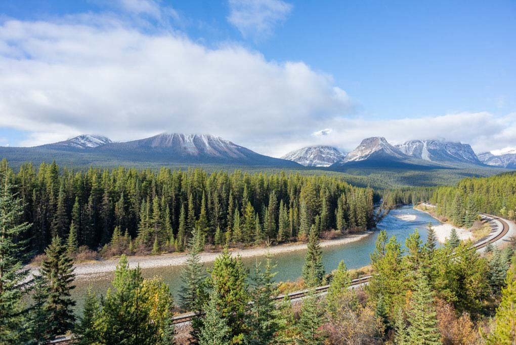 Morants Curve, Banff National Park