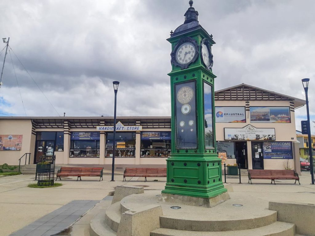 the clocktower in punta arenas chile