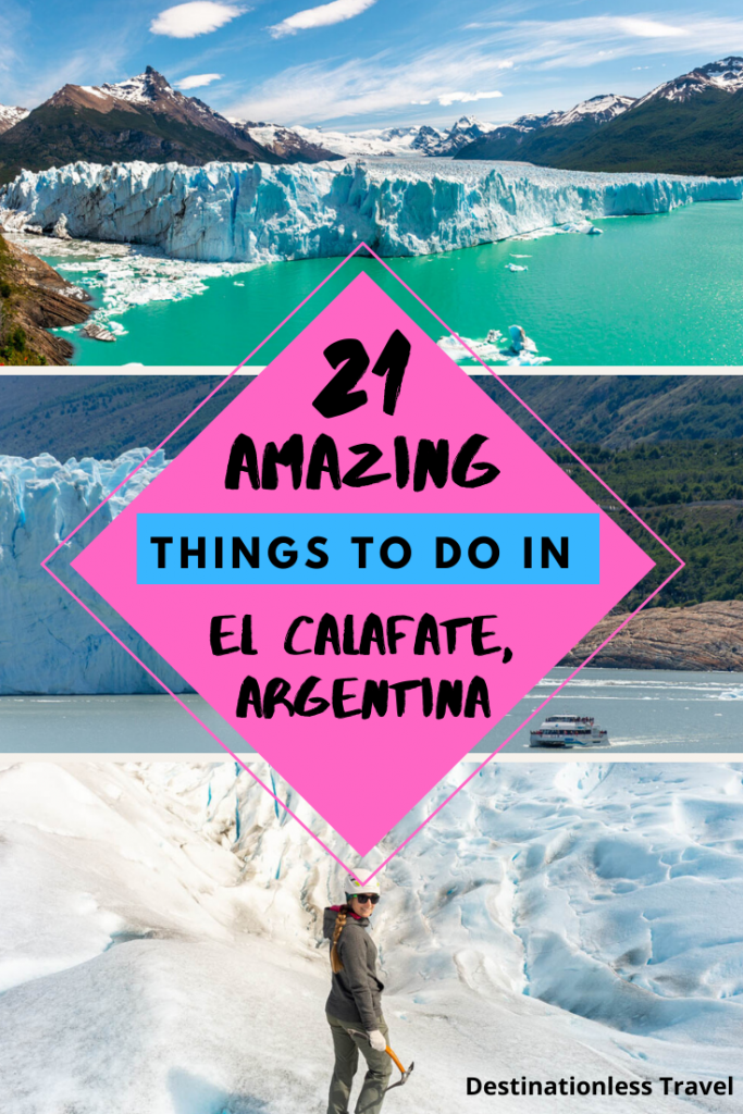 things to do in el calafate pin