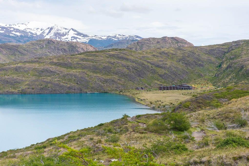 Paine Grande Campsite on the Torres del Paine