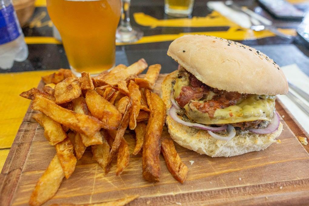 Burgers in El Chalten