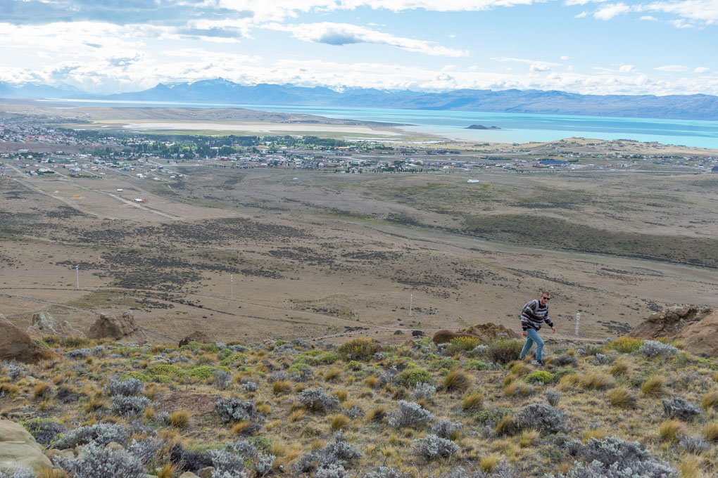 Hiking El Calafate Mountain