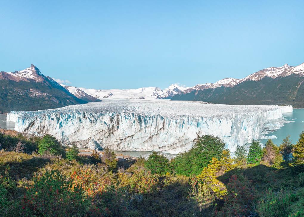Early morning light on the Perito Moreno Glacier