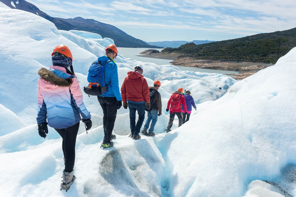 mini trekking on perito moreno group