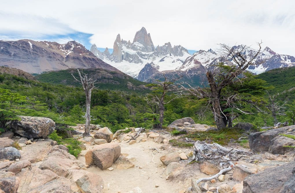 Hiking to Cerro Fitz Roy in Los Glaciares National Park