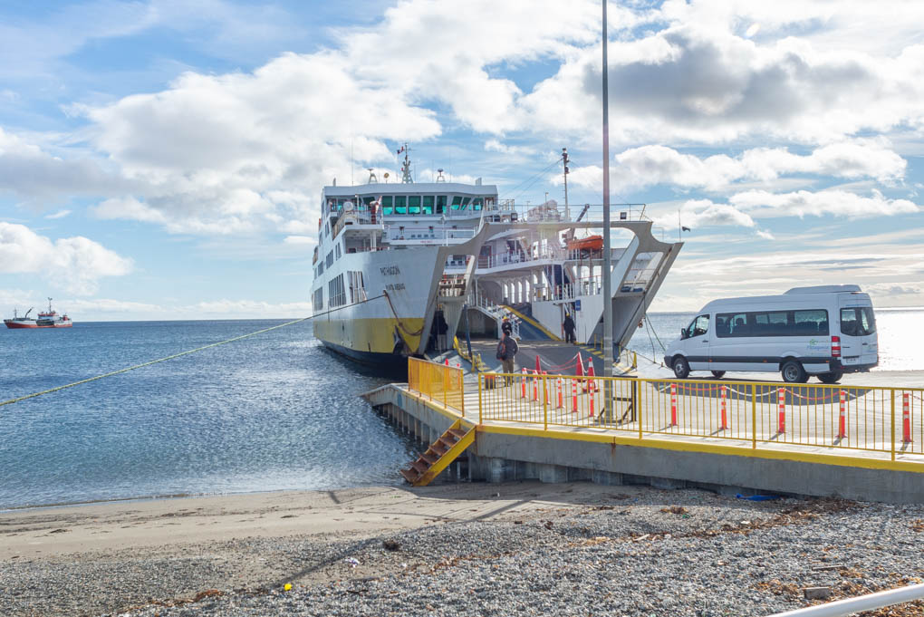 ferry near punta arenas