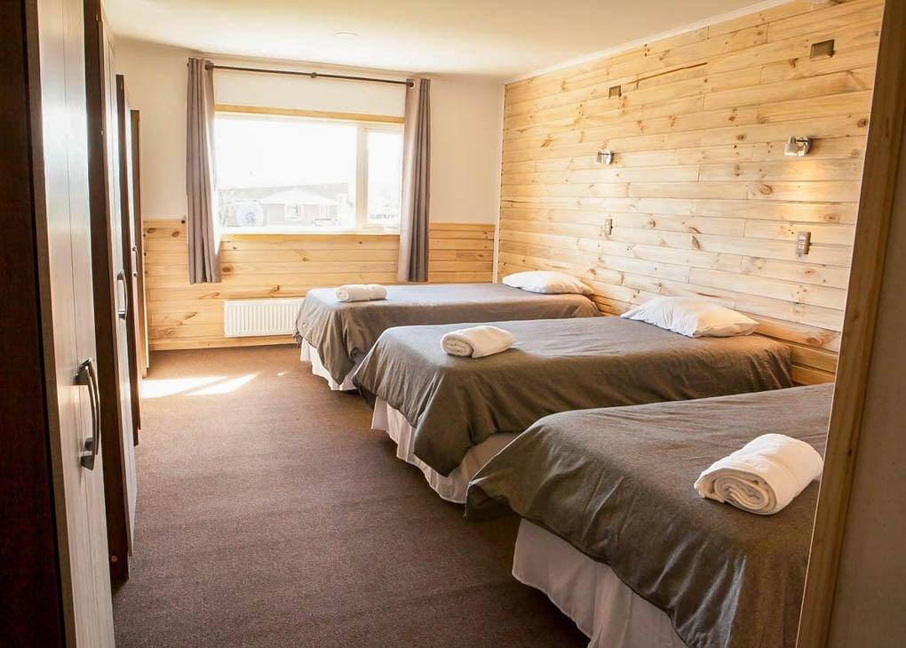 Te rooms at Pampa Hostel