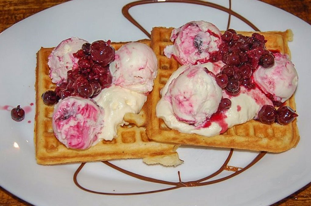 waffles from la wafelria in el chalten