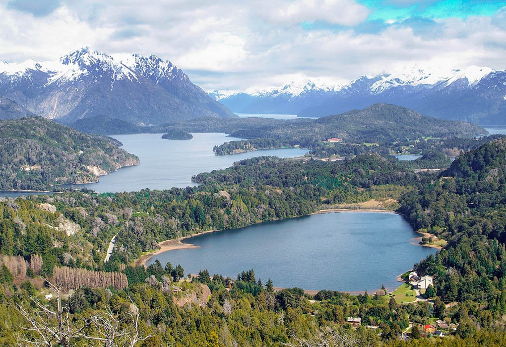 Cerro Campanario in Bariloche viewpoint