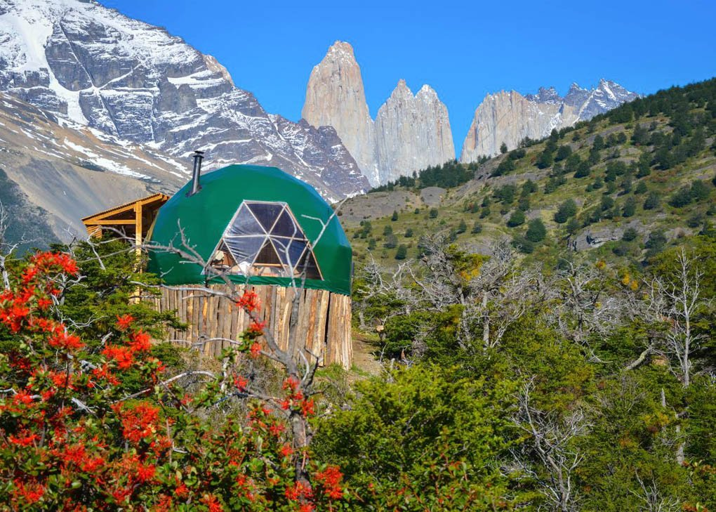 Ecocamp Patagonia in Torres del Paine National Park