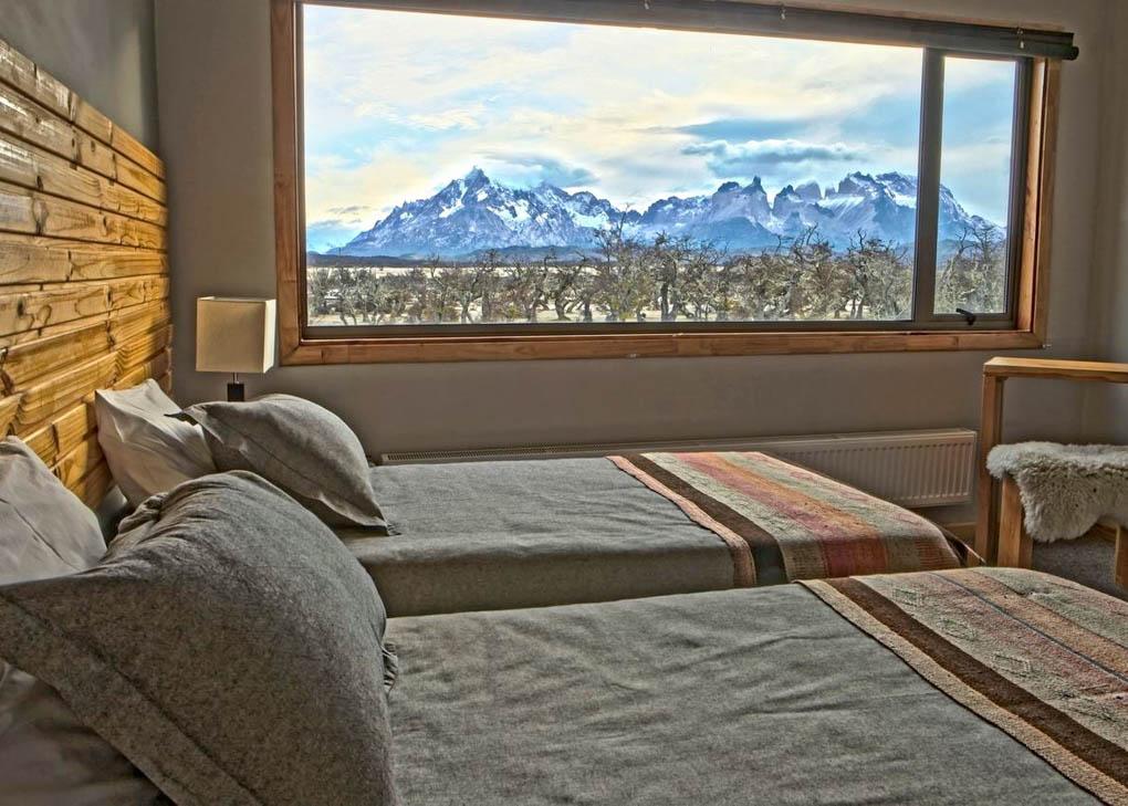 The rooms at Pampa Lodge, Quincho & Caballos
