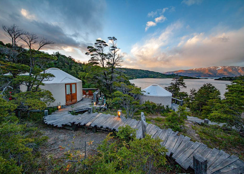 Patagonia camp in Torres del Paine NP