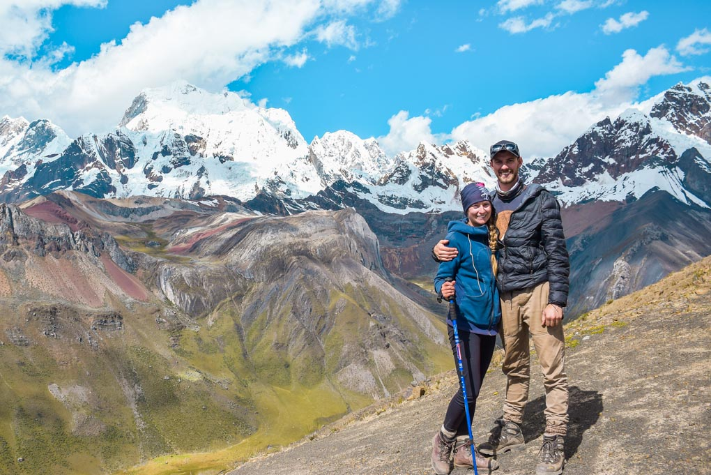 Bailey and I hiking in Huaraz!