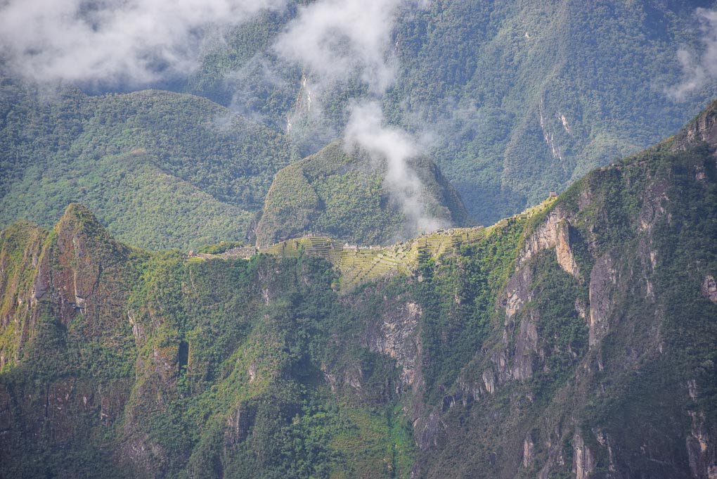 Views of Machu Picchu from night 3 on our Salkantay Trek