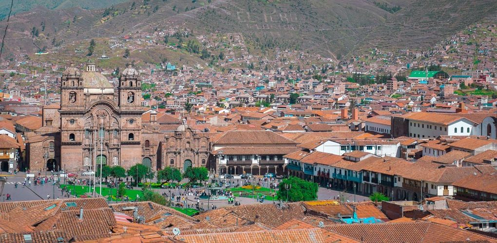 Panoramic shot of Cusco, Peru