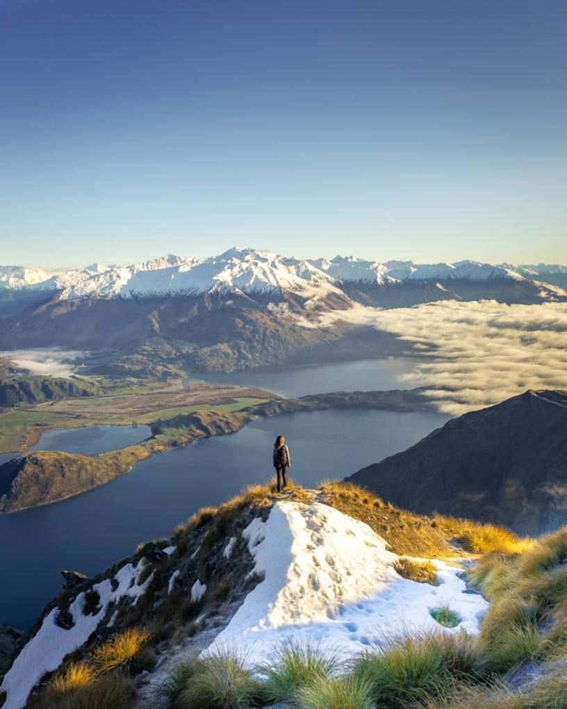 Roy's Peak near Queenstown New Zealand