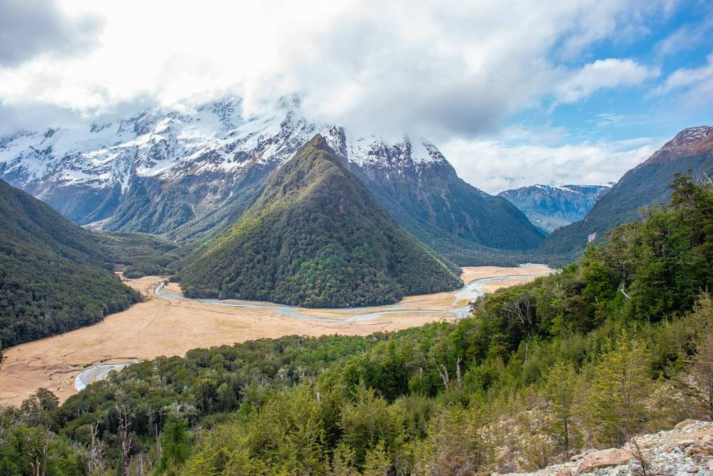 The Views from the Routeburn Falls Hut