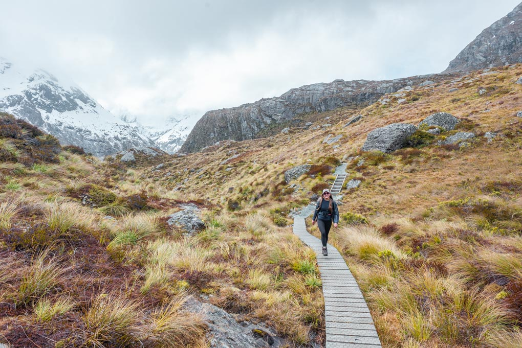 Routeburn Track in winter